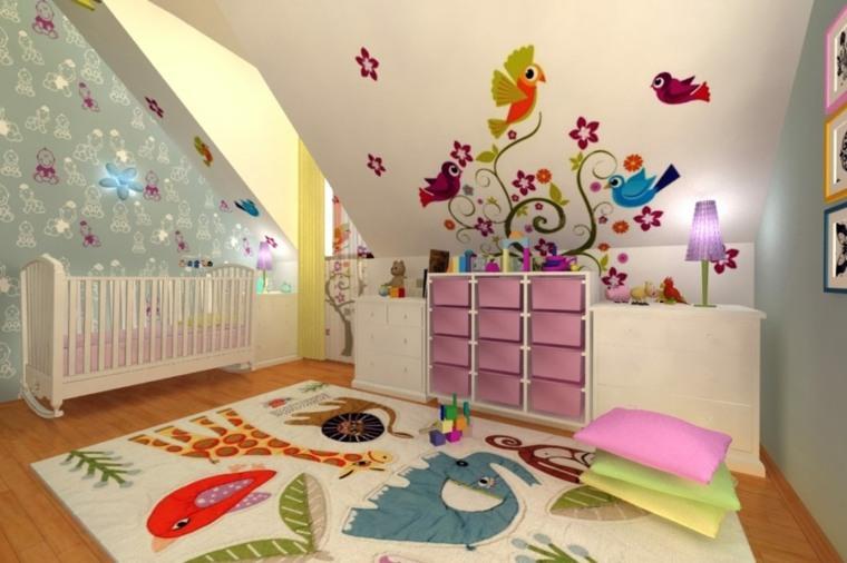 habitación-para-bebé-decorada