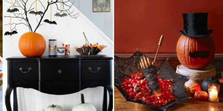halloween ideas-decorar-recibidor