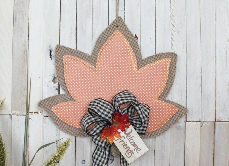 hojas de otono manualidades-decorar