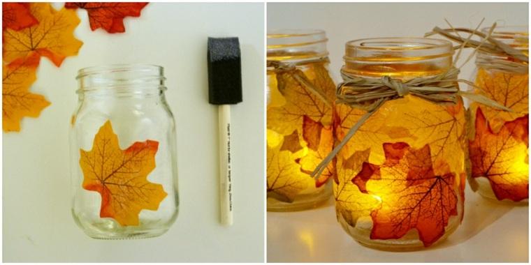 hojas de otono para decorar-interior-casa