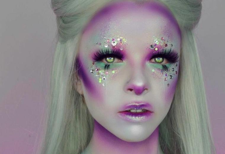 ideas-originales-maquillaje-mujer-bella