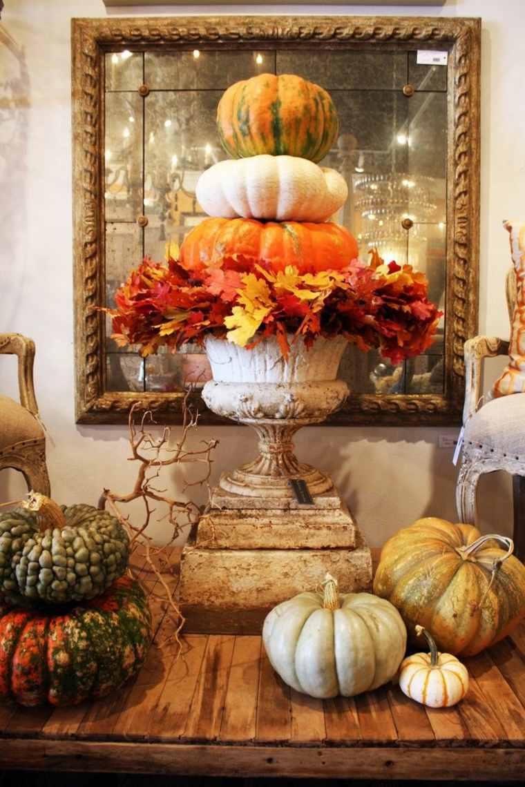 bonita decoración otoño