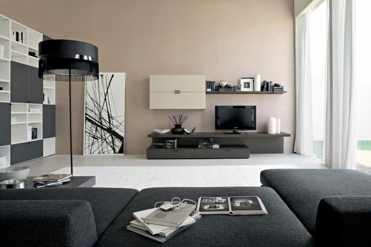 imagenes de salas modernas-pequenas