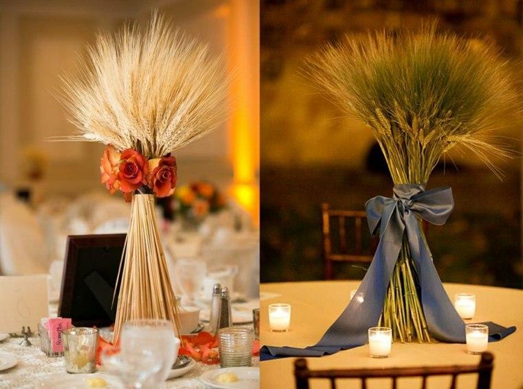 interiores de casas-mesas-decoradas-otono