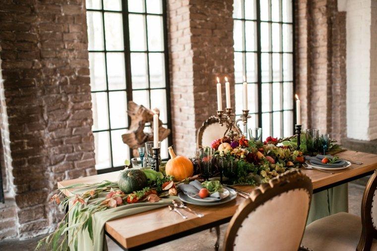 interiores de casas-mesas-otonales