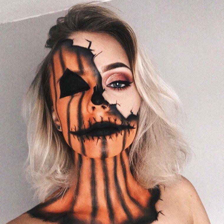 maquillaje-halloween-calabaza-malefica-opciones