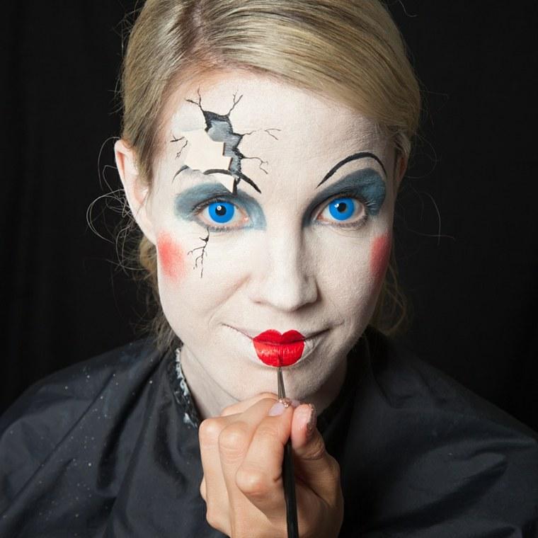maquillaje-halloween-cara-blanca-ideas-originales