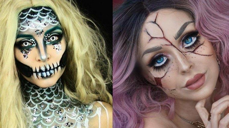 maquillaje-halloween-dos-ideas-muneca-estilo