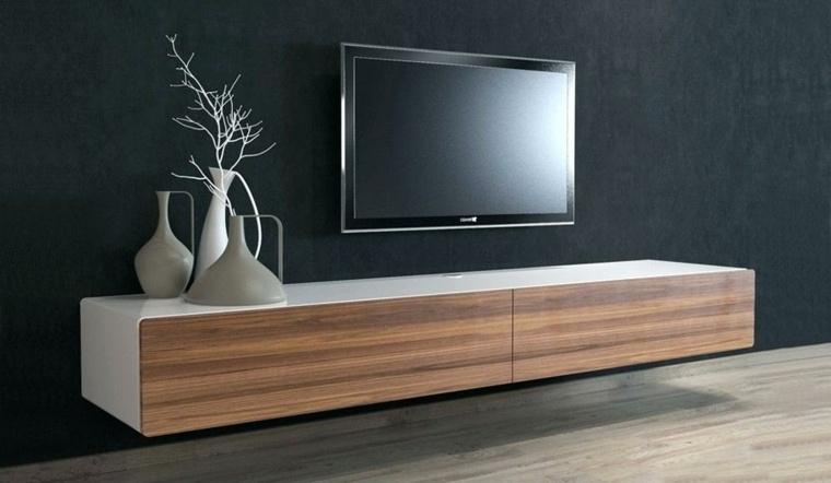 muebles de madera-minimalistas-decorar