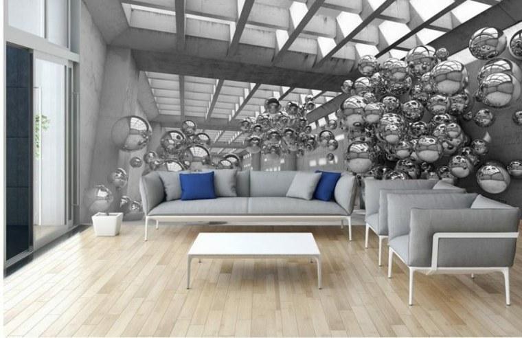 muebles de sala-modernos-paredes