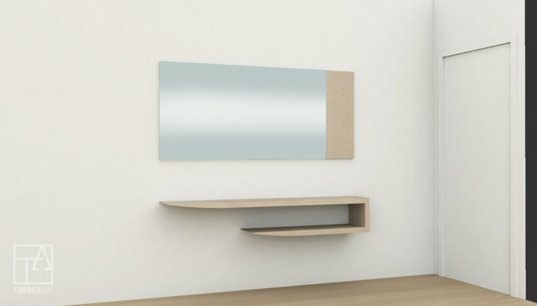 muebles modernos-minimalistas-decorar
