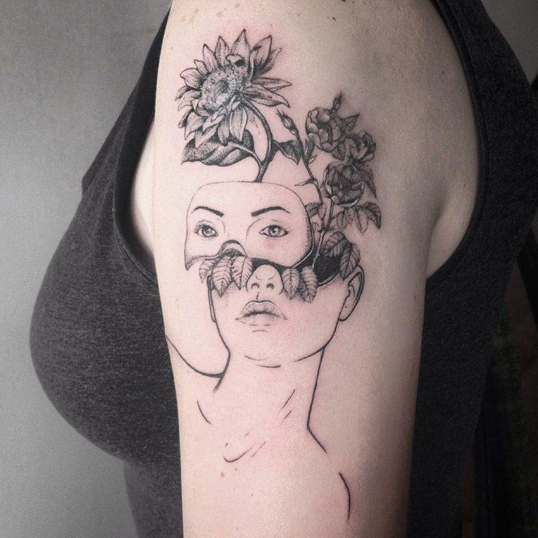 mujer-cabeza-flores-opciones-originales