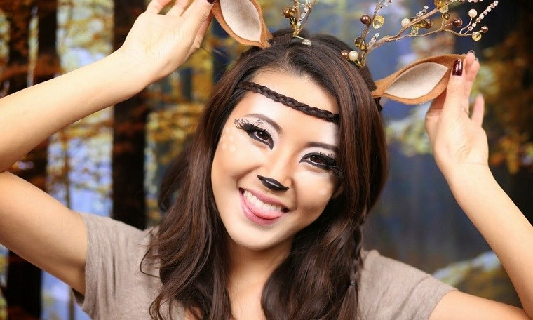 mujer-reno-opciones-maquillaje-halloween