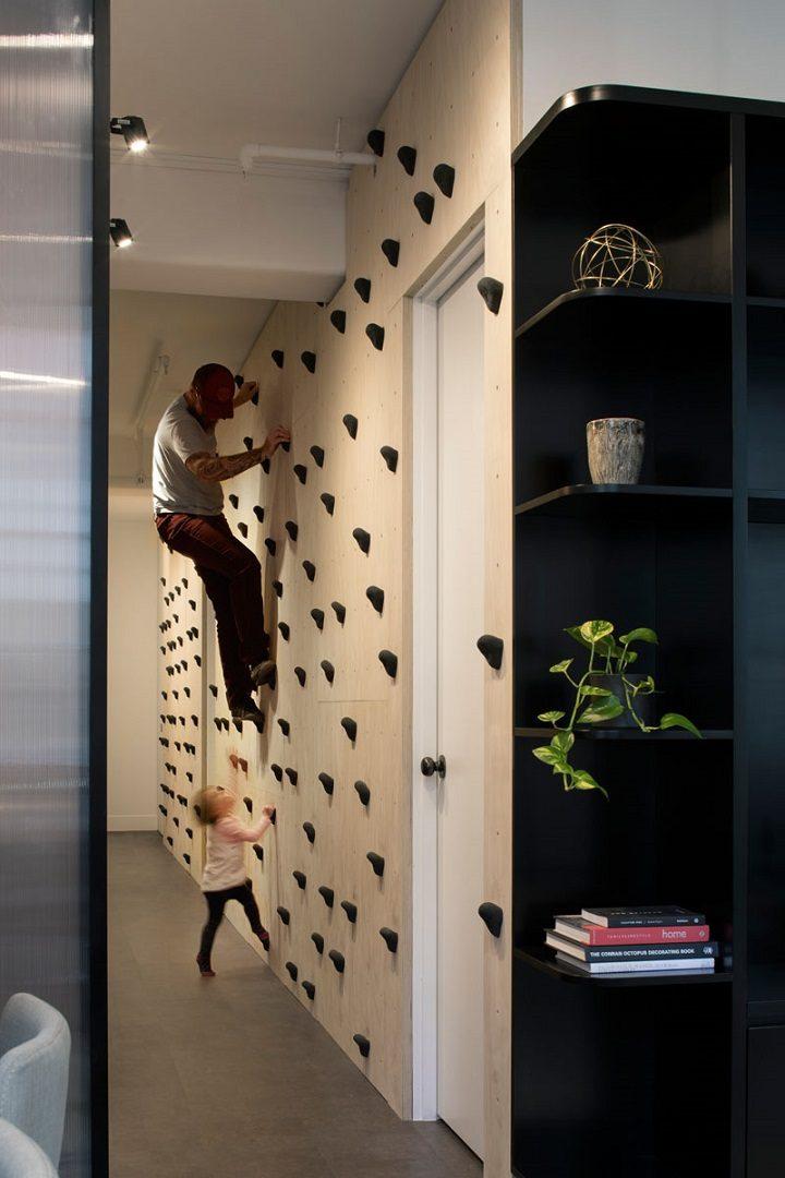 paredes decoradas escaladores diseños