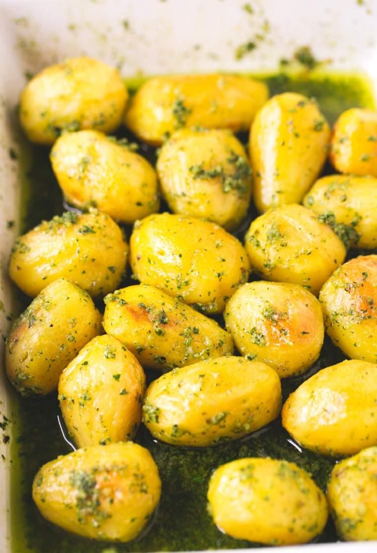 patatas al horno-ideas-recetas-rapidas-pesto-opciones