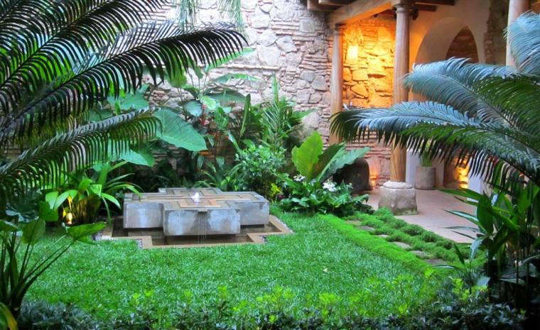diseñar jardines y patios