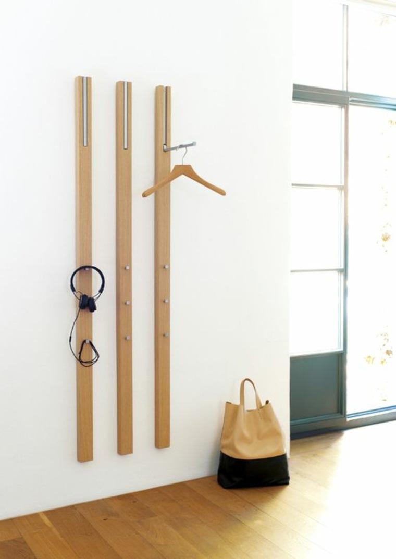 Percheros para ropa 25 ideas originales para todos los - Percheros de pared originales ...