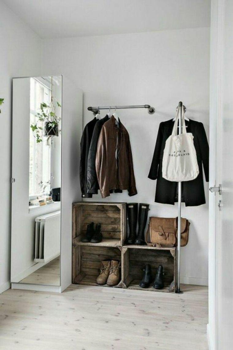 percheros para ropa ideas-originales