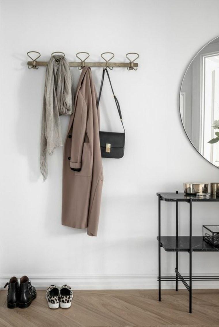 percheros para ropa minimalistas