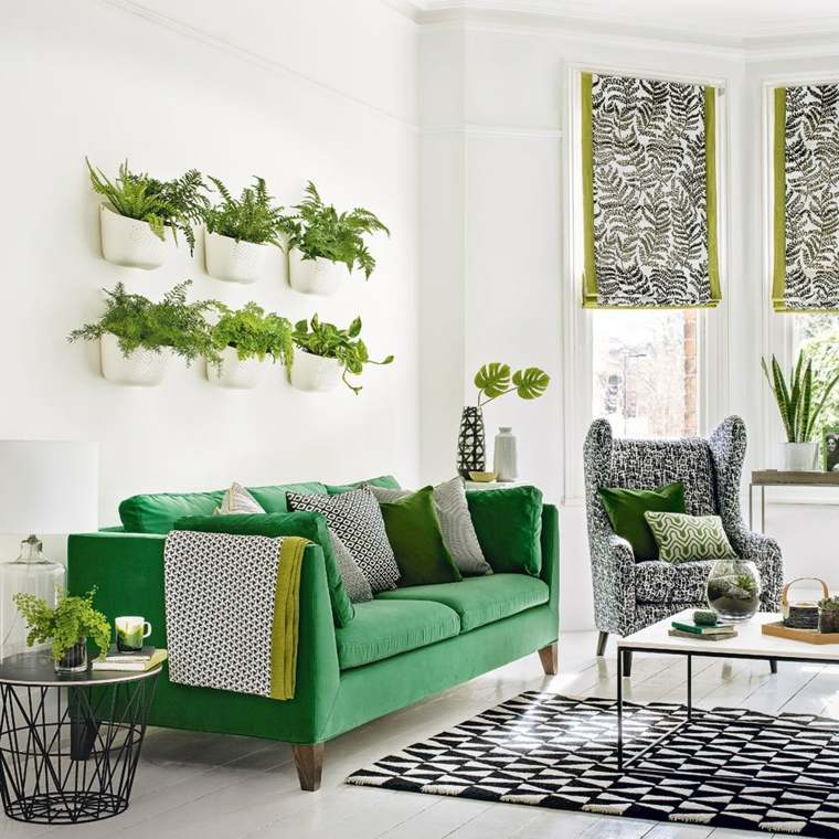 piso verde decoracion-interior