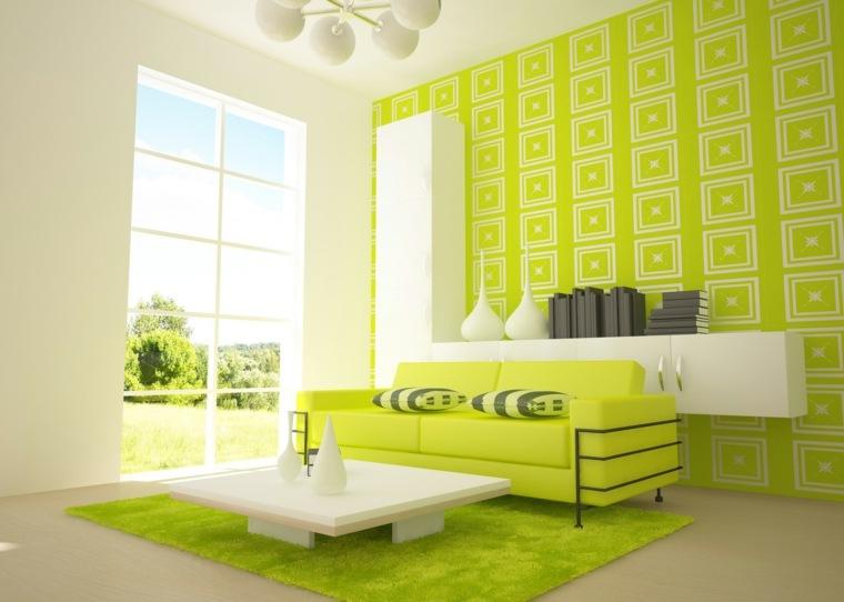 psicologia del color verde-interior