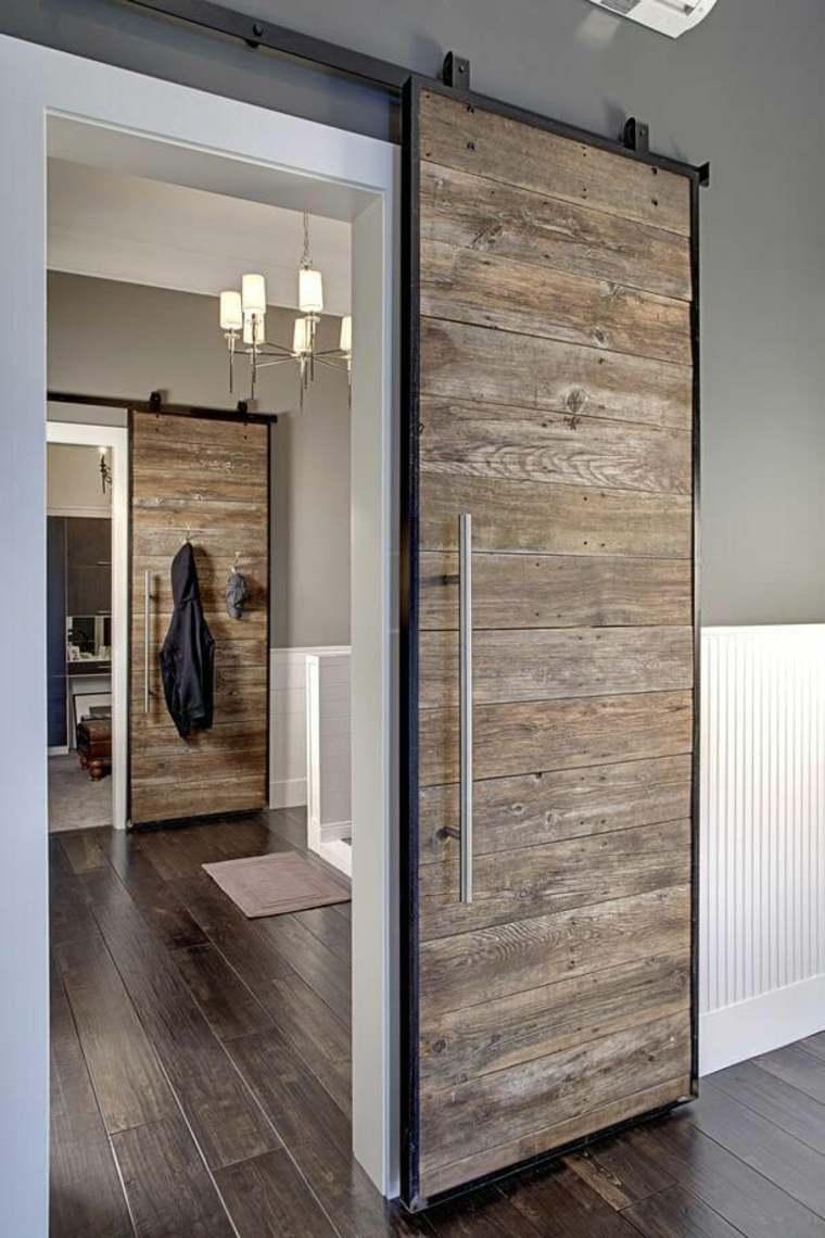 instalar puertas corredizas de madera