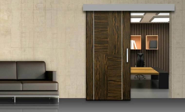 puerta corredera oficina