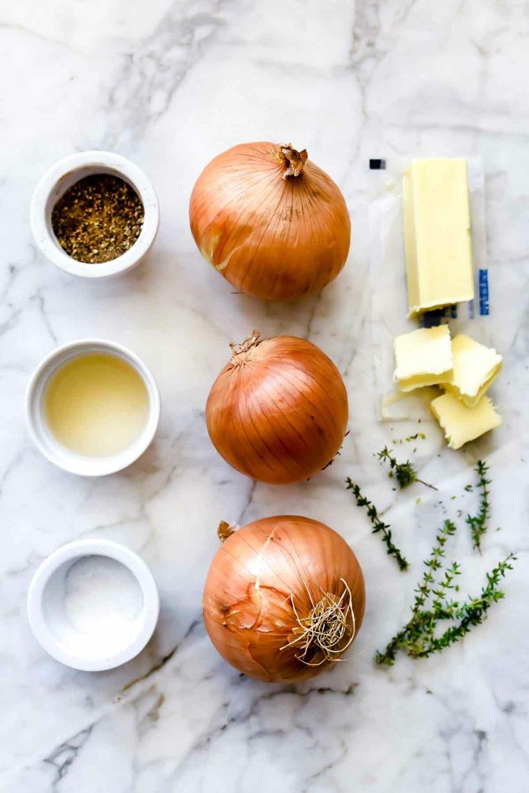 receta cebolla caramelizada-casa