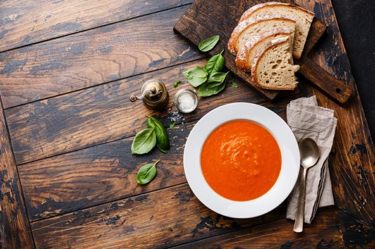 receta facil de gazpacho-casera