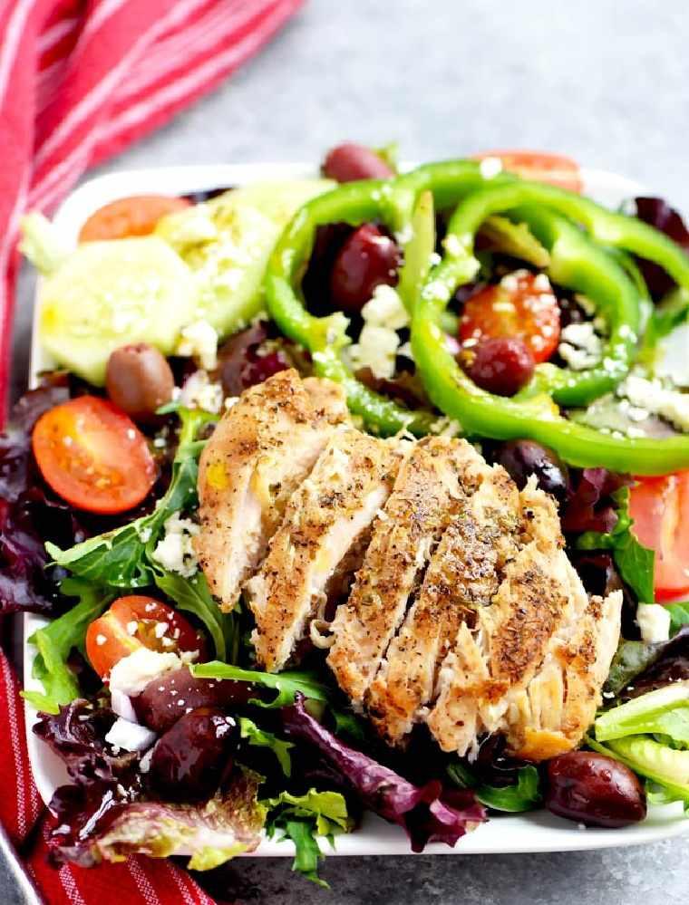 receta-facil-rapida-pollo-ensalada-griega