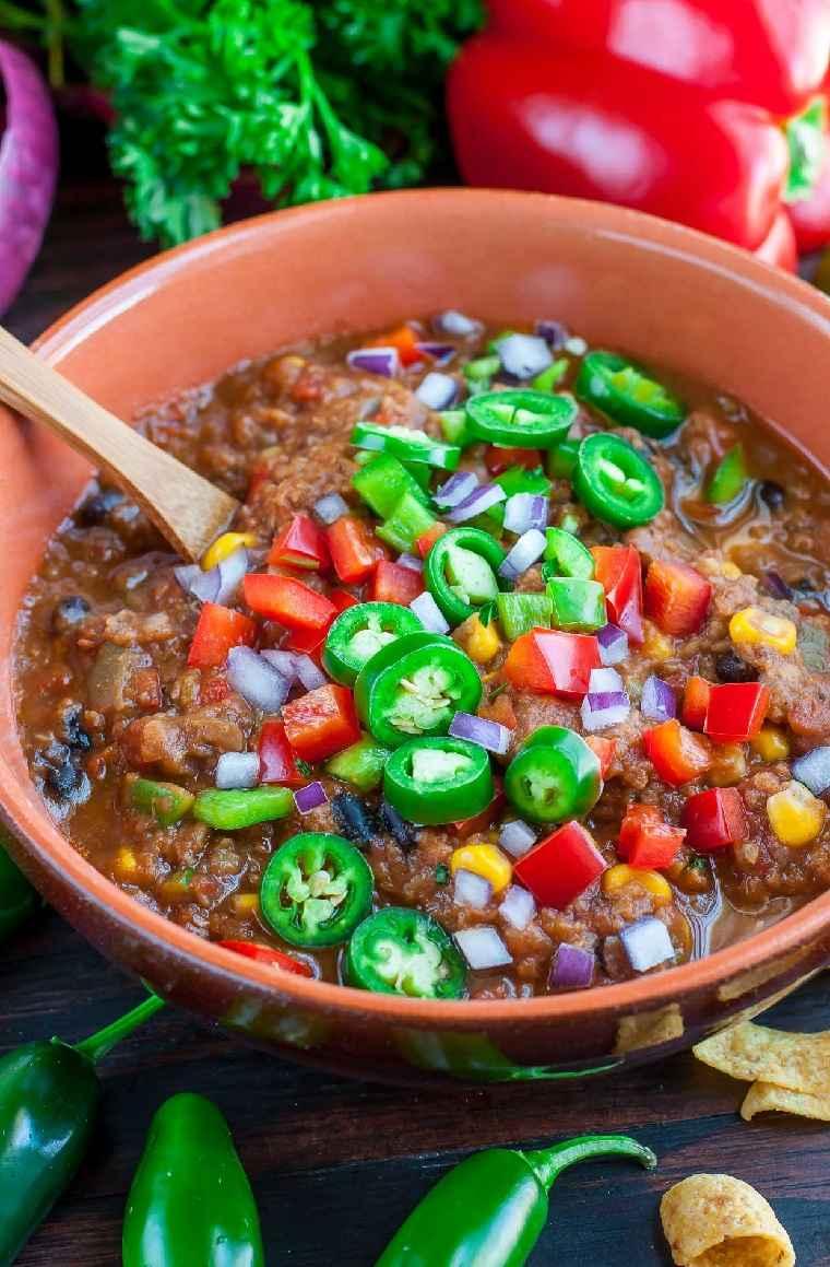 receta-lentejas-chilli-vegetariano-delicoso-facil-rapido