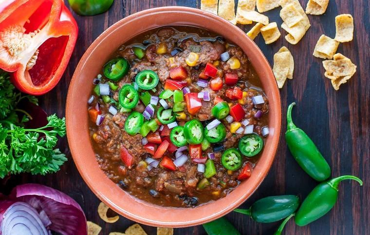 receta lentejas-chilli-vegetariano