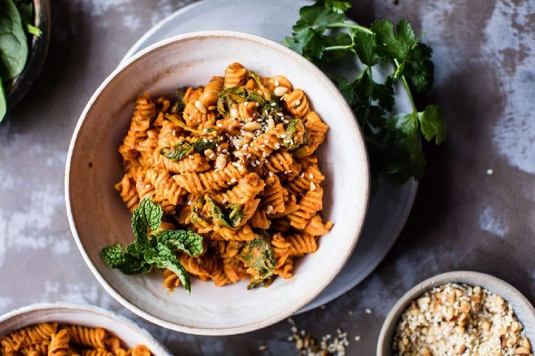 receta-lentejas-pasta-tomates-secos