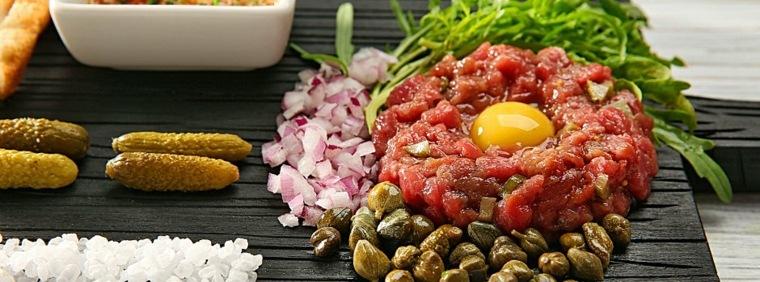 receta tartar de atun rojo y aguacate