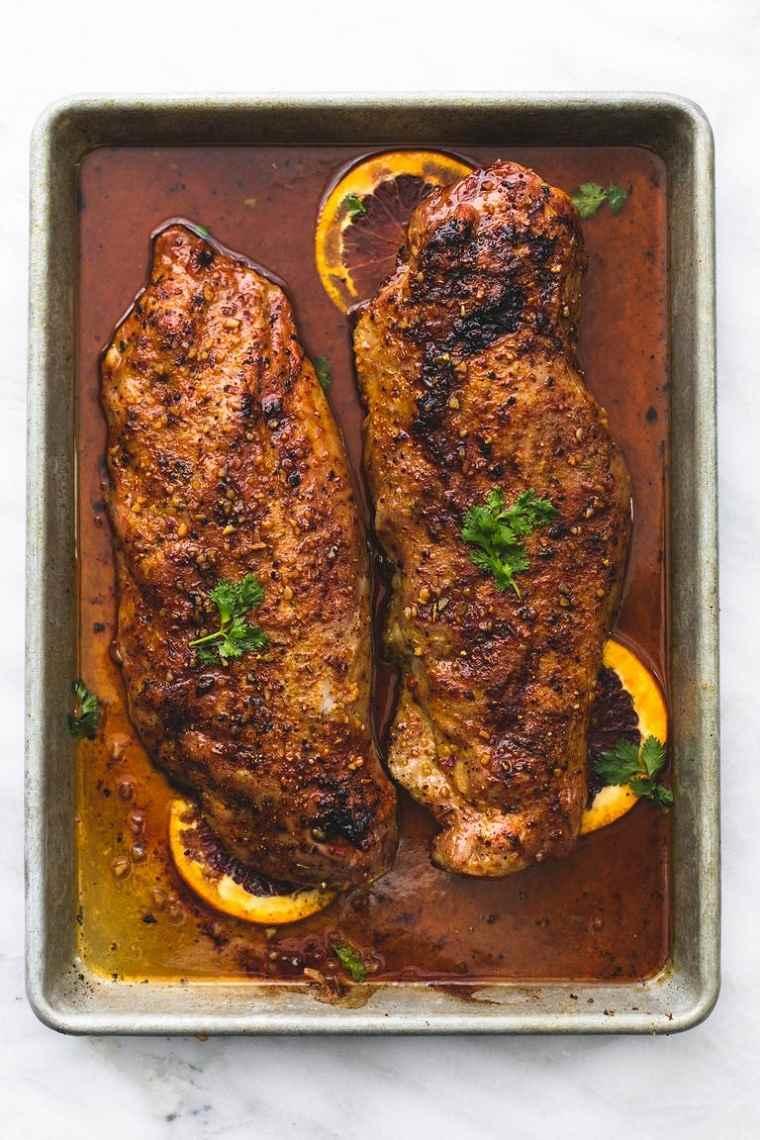 recetas-cena-navidad-solomillo-cerdo-glaseado