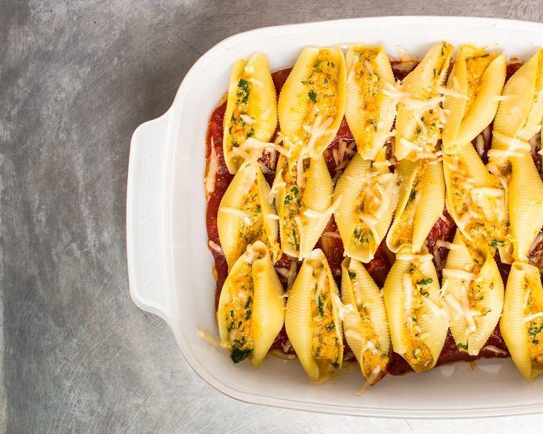 recetas-con-calabaza-comida-pasta-salsa