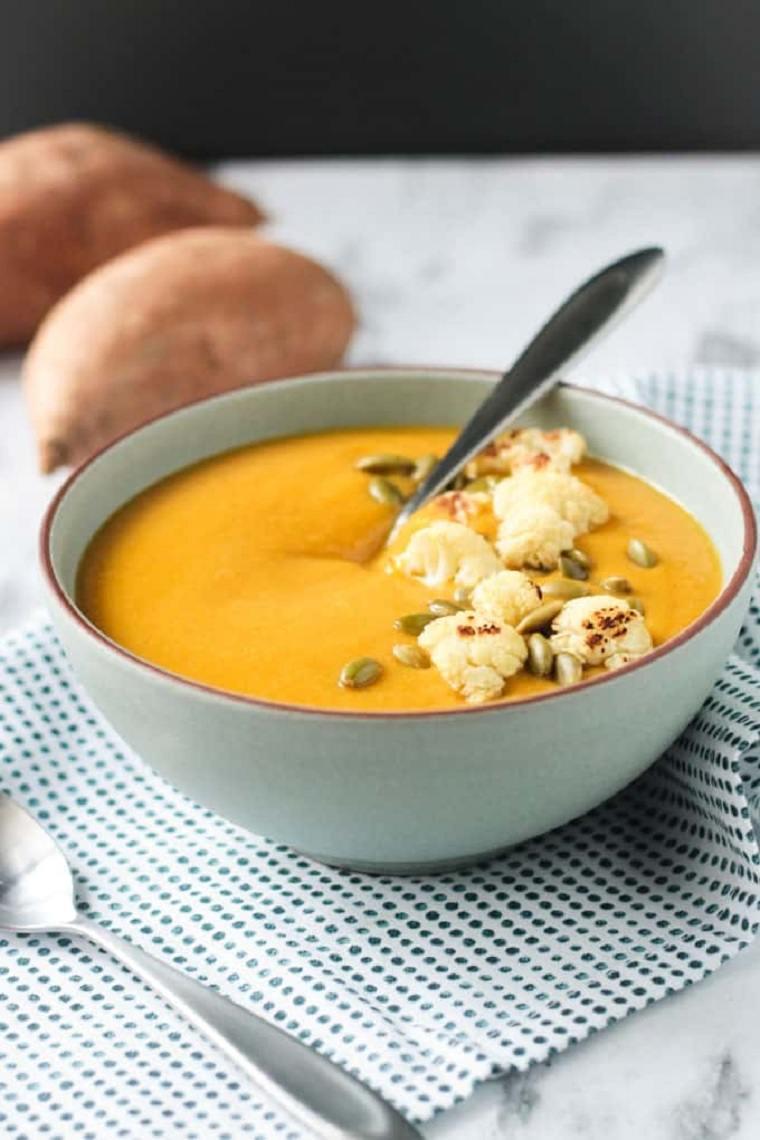 recetas con coliflor-sopa-patatas-dulces