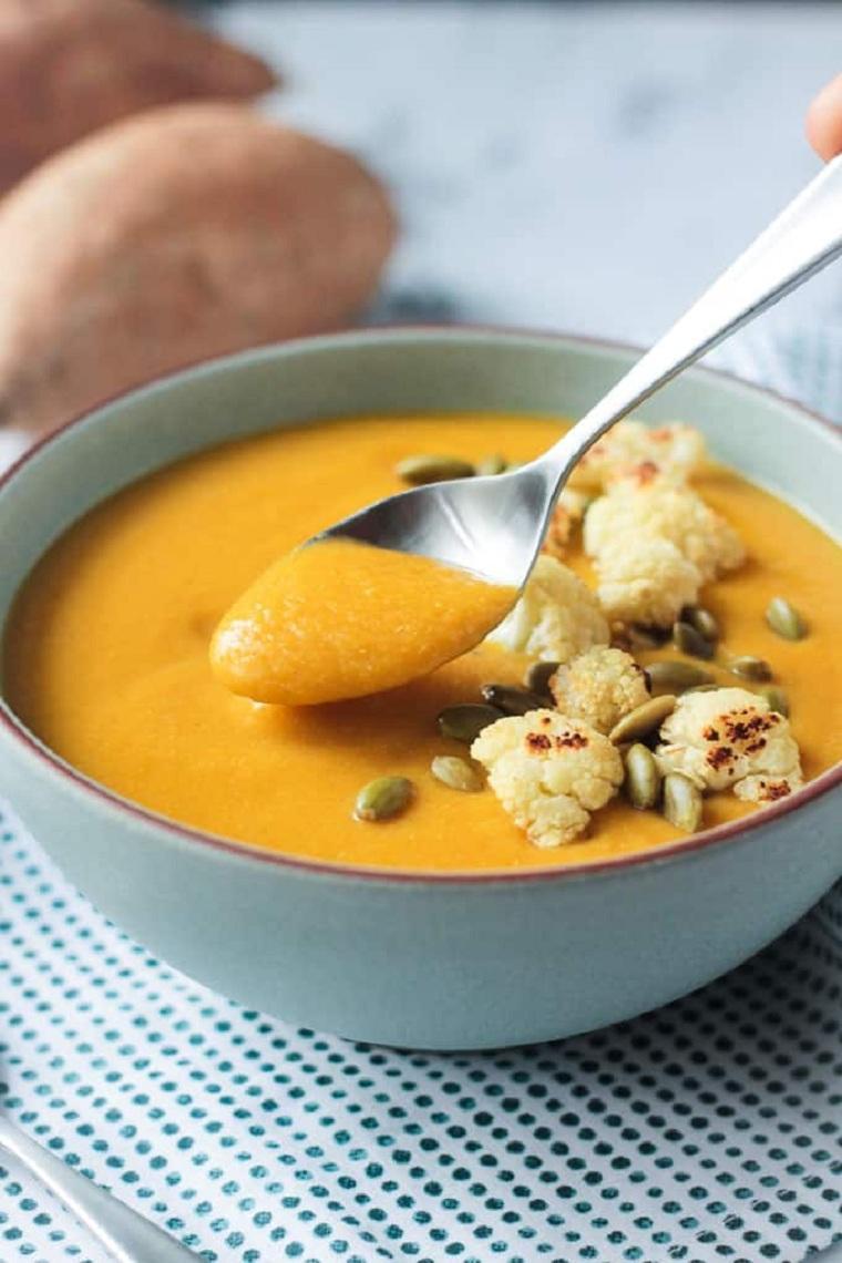 recetas con coliflor-sopa-patatas-ideas