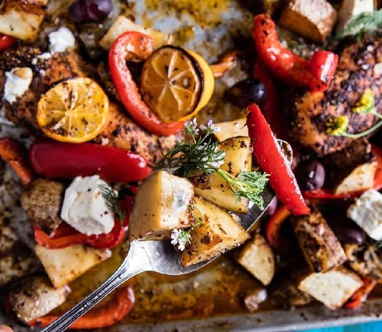 recetas-con-pechuga-de-pollo-patatas-limon-queso