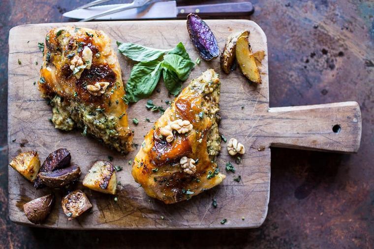 recetas-con-pechuga-de-pollo-rellena-queso-rica
