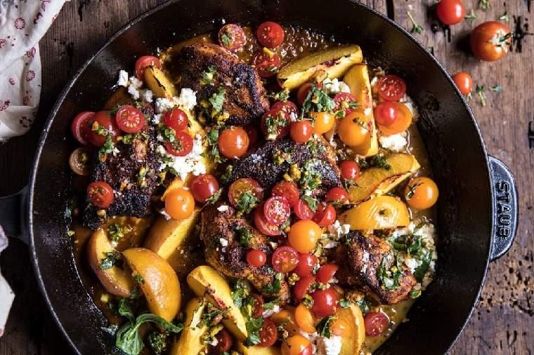 recetas-con-pechuga-de-pollo-tomato-melocoton