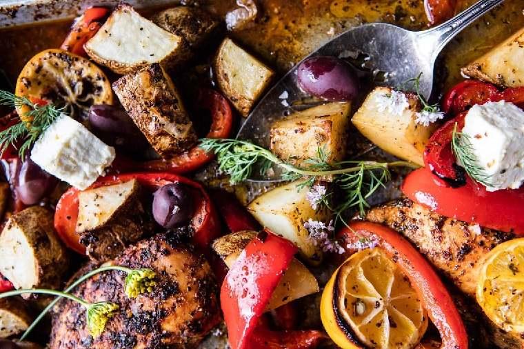 recetas-con-pechuga-de-pollo-verduras-opciones