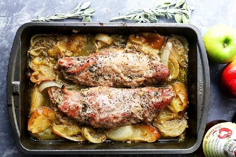 recetas-de-solomillo-de-cerdo-manzana-mostaza-opciones