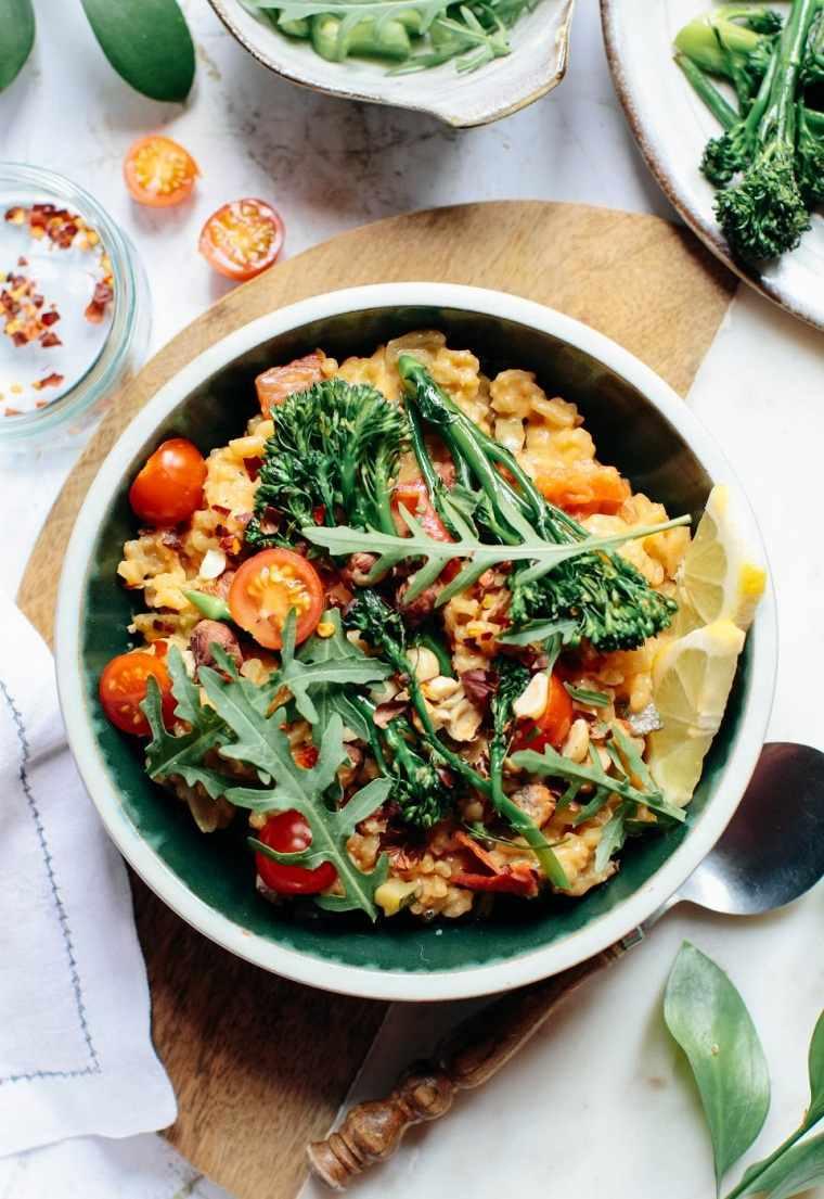 recetas-faciles-y-sanas-opciones-risotto-vegetales