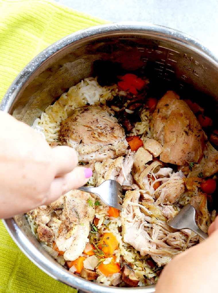 recetas fáciles y sanas pollo-arroz-ideas