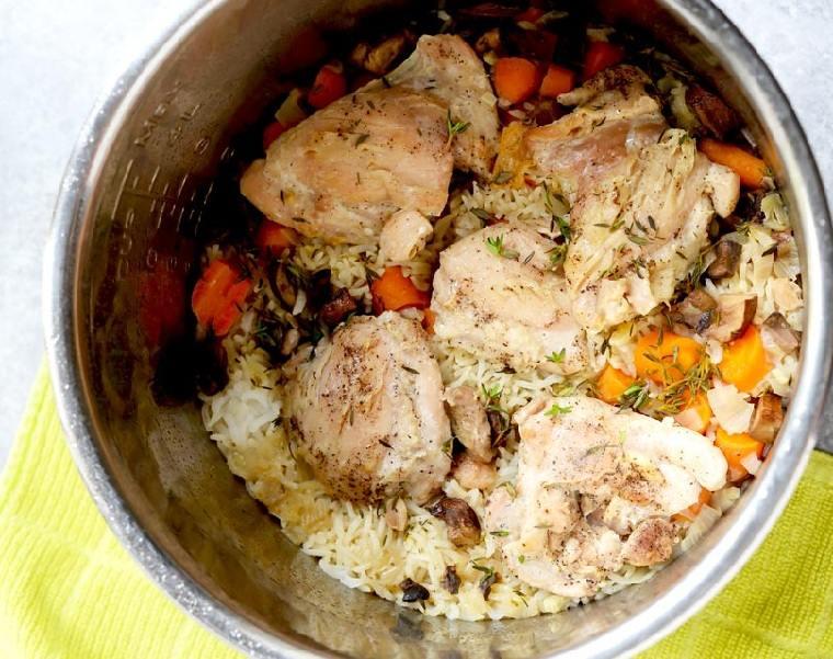 recetas-faciles-y-sanas-pollo-arroz-vegetales