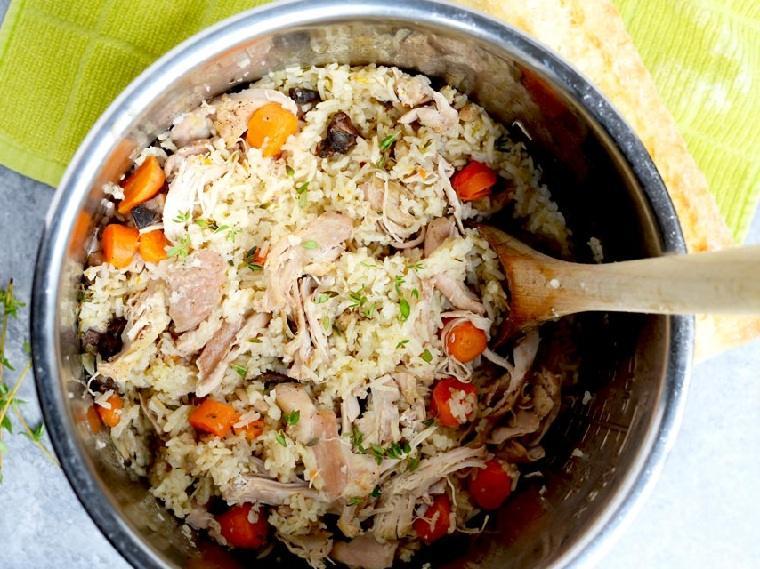 recetas fáciles y sanas pollo-arroz