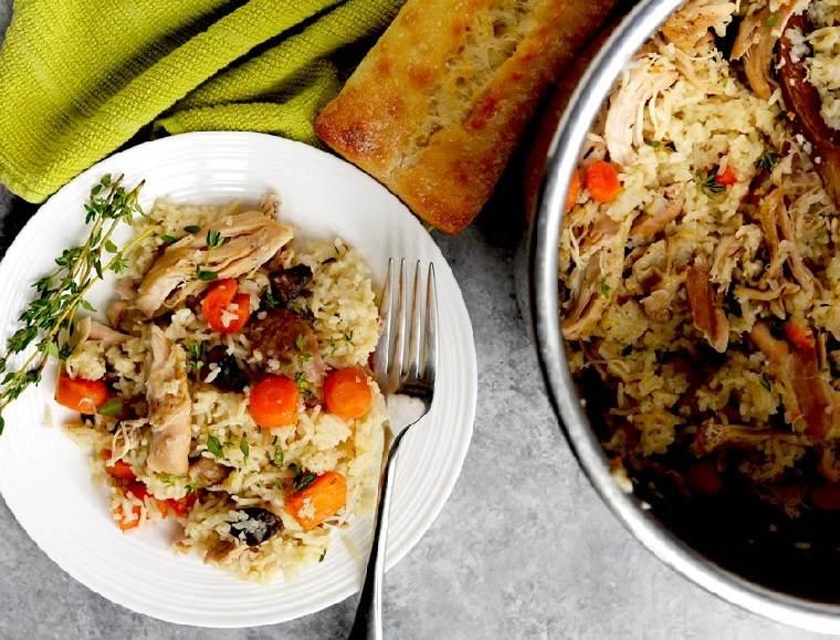 recetas fáciles y sanas pollo