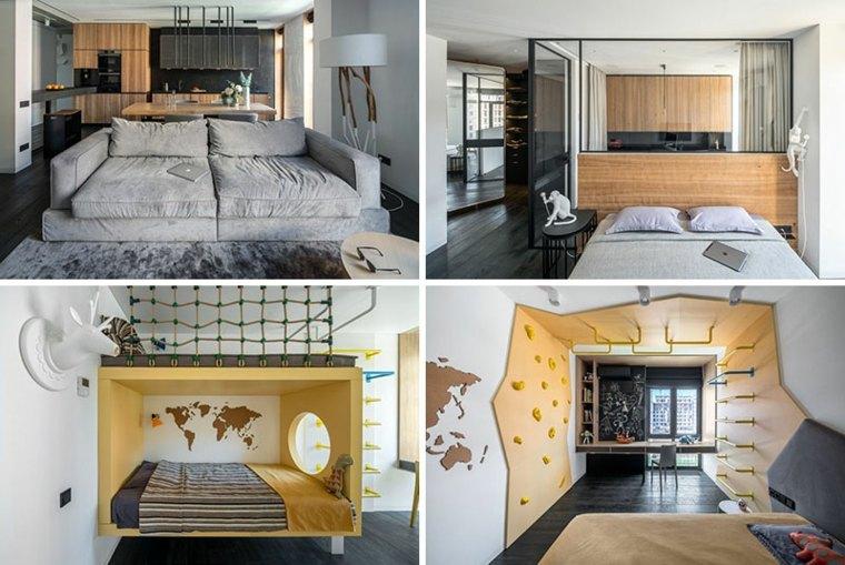 remodelacion interiores casas modernas