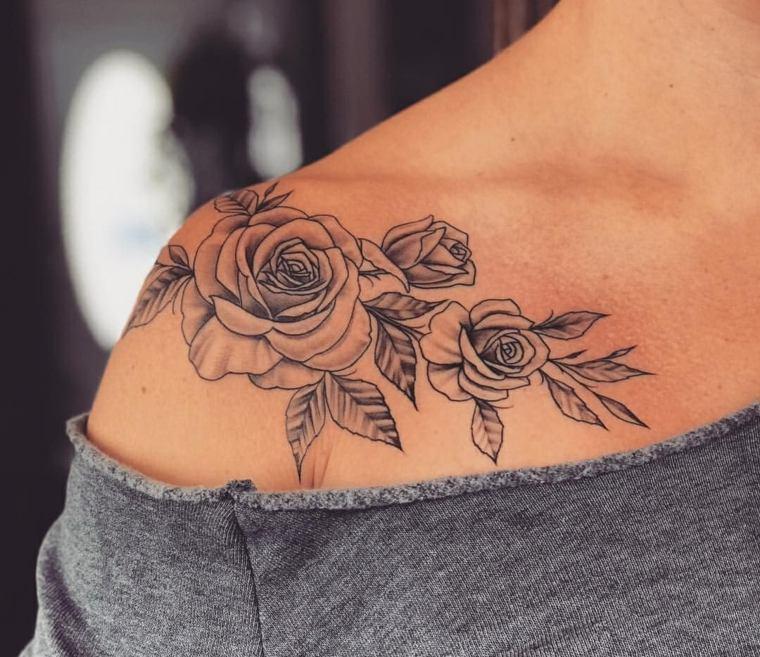 Tatuajes Para El Hombro Más De 120 Diseños Para Hombres Y Mujeres